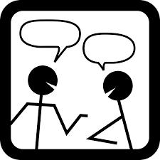 Pasikalbėk su kuo nors…