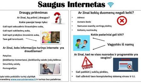 Vasario 8-12 d. Saugaus interneto savaitė