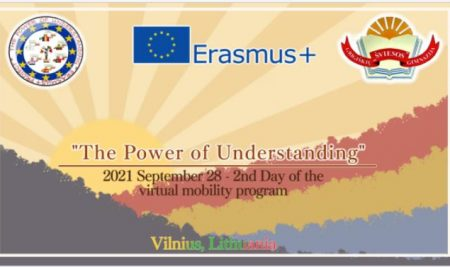 "Antroji ERASMUS + projekto ""THE POWER OF UNDRESTANDING"" diena"